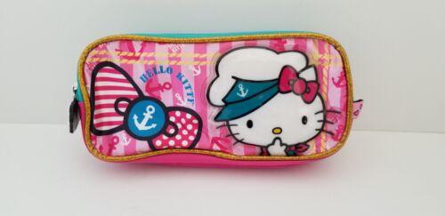 Hello Kitty RUZ Multi Colored Pencil Bag Case Pouch Sailor Kitty