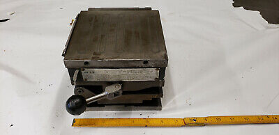 Taft-peirce 6 X 6 Superpower Permant Magnetic Compound Sine Plate Chuck.