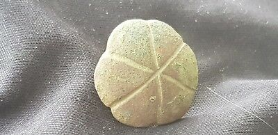 Superb rare Post Medieval bronze Clover Mount. Please read description. L102s