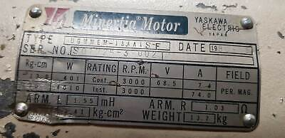 Yaskawa Minertia Dc Servo Motor For Cnc Machine