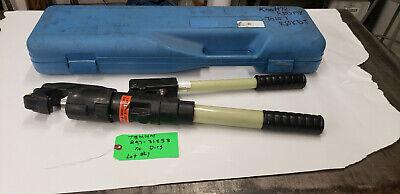 Thomas Betts Tbm14m 297-31858 14-ton Hyd Crimp Crimping Tool No Dies Lot1