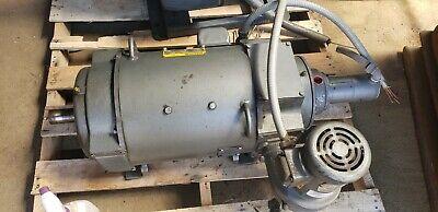 Baldor 20 Hp Dc Motor With Tach 259at Frame