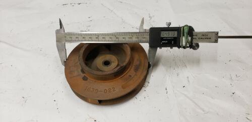 """Taco 1630-022SP 4.9"""" Cast Iron Impeller, NEW SURPLUS SHOWS RUST"""