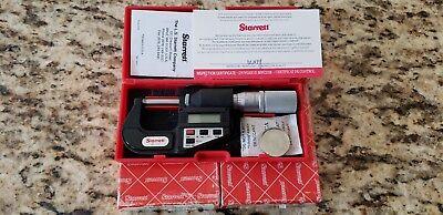 Starrett No. 733 Digital Micrometer Mfr Edp 64239