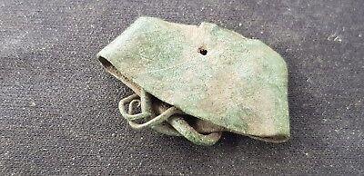 Very rare type Viking bronze copper alloy ring, please read description. L101q