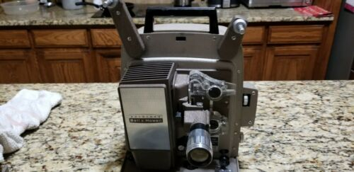 Bell & Howell Auto Load Model 245 PA 8 MM Projector Works