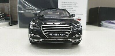 1:18 Minikraft Hyundai Genesis G80 Sedan black 250pcs Limited Dealer Edition