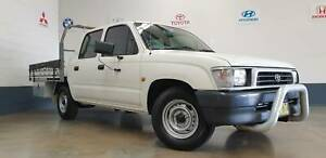 2000 Toyota Hilux Manual Ute North St Marys Penrith Area Preview