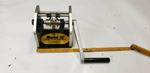 Roto II RC-860 Hand Operated Component Axial Lead Former.  USED