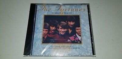 THE FORTUNES Storm In A Teacup JAVELIN JAVCD113 SEALED CD  (Storm Javelin)