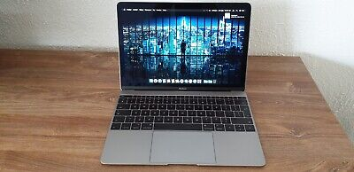 MacBook 12'' Core m3 1.1GHz 256GB SSD 8GB Ram Early 2016 Spacegray Low cycle