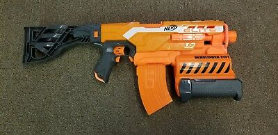 Nerf N-Strike Elite Demolisher 2-IN-1 Blaster Dart Gun #01 - Tested