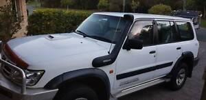 2003 Nissan Patrol St (4x4) 4 Sp Automatic 4d Wagon