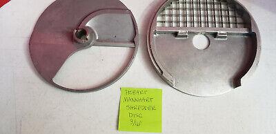 Hobart Mannhart Food Processor Discs Blades Plates Dicing Grid Slicing Blade