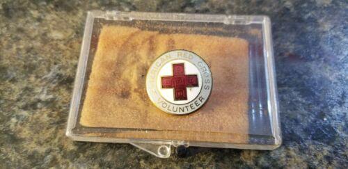 Vintage American Red Cross Volunteer Pin