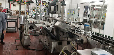 New Jersey Machine Pressure Sensitive Labeler 334 Pacesetter 2008 Model