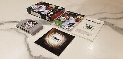 RARE - NFL Quarterback Club 99 - Nintendo 64 N64 COMPLETE!!!