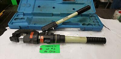 Thomas Betts Tbm14m 297-31858 14-ton Hyd Crimp Crimping Tool No Dies  Lot6