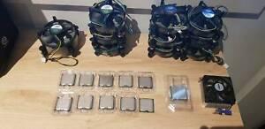 Misc CPU's(775, AM2), Intel CPU coolers(775, 115x, 1366) Mernda Whittlesea Area Preview