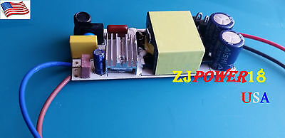 50w High Power Led Driver Supply 85-265v Constant Current