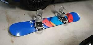 Burton Custom 165 Snowboard and Burton Cartel EST Bindings