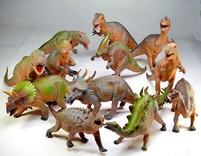 Dinosaurier 42-57 cm massiv Dino groß verschiedene Arten Neu
