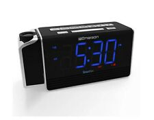 Emerson SmartSet Projection Alarm Clock Radio with USB ...