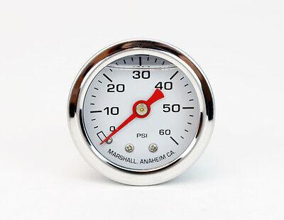 Sa-200 0-60psi Direct Mount 18npt Fuel Oil Pressure Gauge Liquid Filled Bw1741