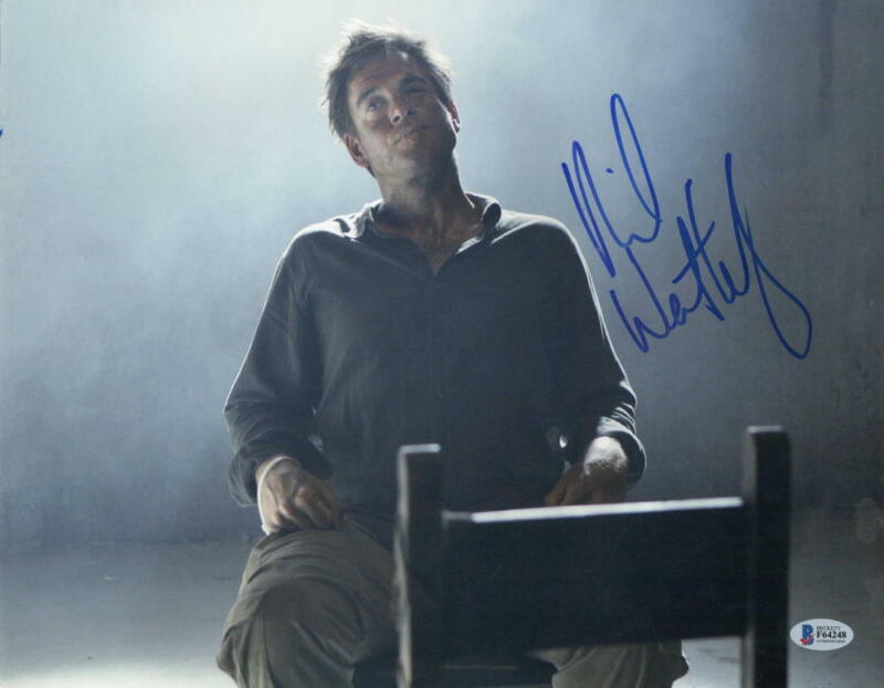 MICHAEL WEATHERLY SIGNED 11X14 PHOTO NCIS AUTHENTIC AUTOGRAPH BECKETT COA E