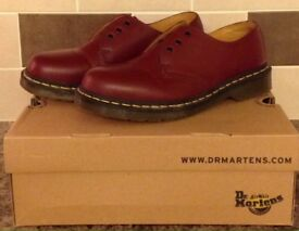 Genuine Dr Martens - Cherry Red - Size 7