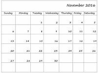 Latest Printable Calendar