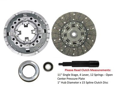 Ford Tractor 4000 4100 4110 4140 4330 4340 4400 4410 4610 Clutch Kit