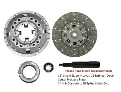 11 Clutch Kit Ford 2110 2120 2310 3110 3310 4110 4330 4410 4610 Tractor