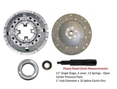 11 Clutch Kit Ford Tractor 2000 2310 3000 3310 4000 4410 4610
