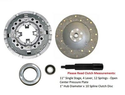 11 Clutch Kit Ford Tractor 3400 3900 4000 4100 4110 4140 4330 4340 4400