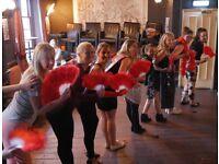 Dance-Burlesque dance class for Hen Parties! Just Dance Brighton