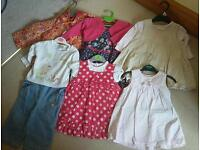 Collection of Girls clothes age 3-6 and 6-9 months
