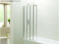 4 Folds shower/ Bath screen