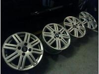 "15"" 4x108 ford fiesta fusion kuga focus alloy wheels"