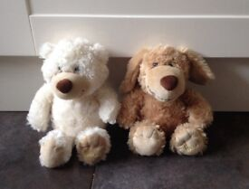 Two Harrods teddy bears- excellent condition