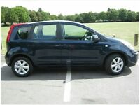BLUE Nissan Note. 1.5 2006 plate. Diesel. FULL service history.