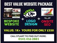 View our BEST VALUE Website Package - Talented Web Designer & SEO Expert at your service!