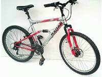 Mens Full Suspension Bike Size Med/Large Fully Working Serviced & Ready to Ride