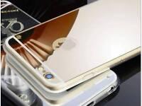100 rose gold metallic iPhone cases