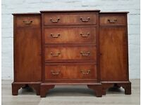 Small Breakfront sideboard (DELIVERY AVAILABLE FOR THIS ITEM OF FURNITURE)