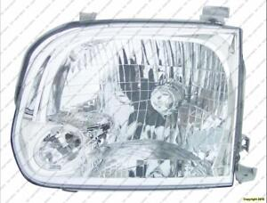 Head Lamp Driver Side Double Cab Toyota Tundra 2005-2006