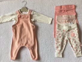 BNWT Next Baby Girl Outfit & Leggings 3 - 6 Months