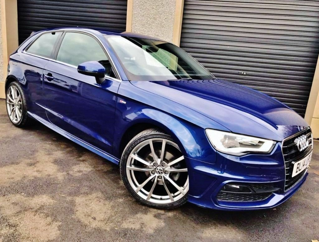 2014 audi a3 1 6 tdi 105 s line 3 door a1 a4 vw golf seat. Black Bedroom Furniture Sets. Home Design Ideas