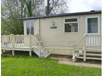 Luxury Static Caravan Sited In The Cotswold Water Park