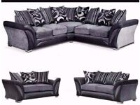 SUPER LARGE CORNER AND 3 + 2 SEATER SOFA SAME DAY DELIVERY ALL OVER LONDON